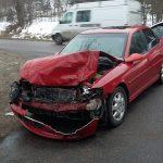 Wypadek w Kobysewie: trzy osoby ranne [ZDJĘCIA]