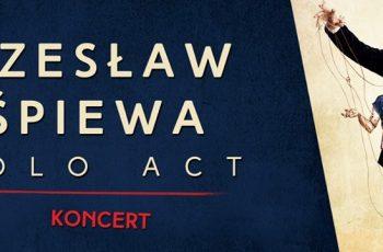 Czesław Śpiewa Solo Act : Koncert w Kartuzach