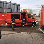 Ewakuacja w Żukowie, zakład fryzjerski zaatakowany kwasem masłowym