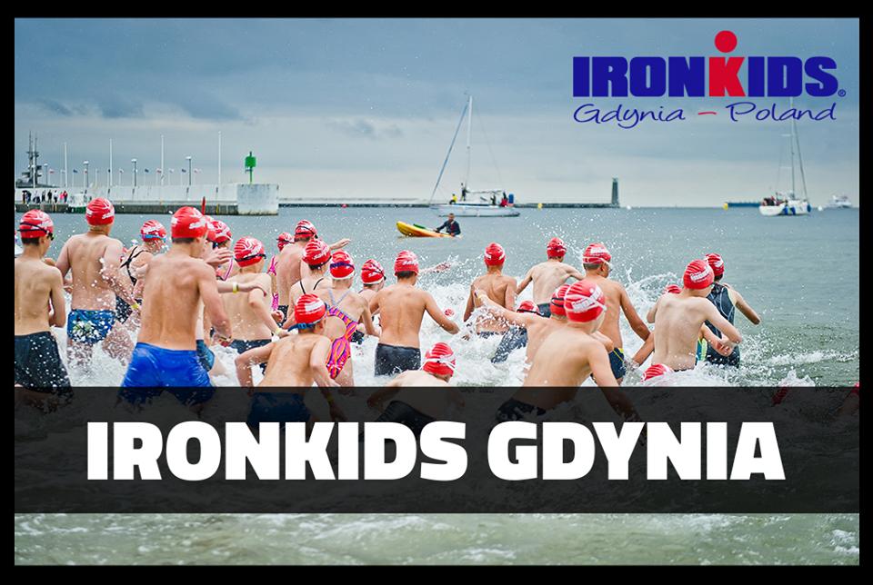 Mistrzostwa Polski w aquathlonie w ramach Ironkids Gdynia