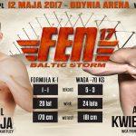 """Kamil Mateja  będzie walczył na FEN 17 """" Baltic Storm"""""""