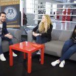Sandra Wyrzykowska i Joanna Soliwoda dla TV z Kaszub o przodkowskiej siatkówce [WIDEO]