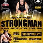 Puchar Polski STRONGMAN: najsilniejsi zmierzą się w Kartuzach