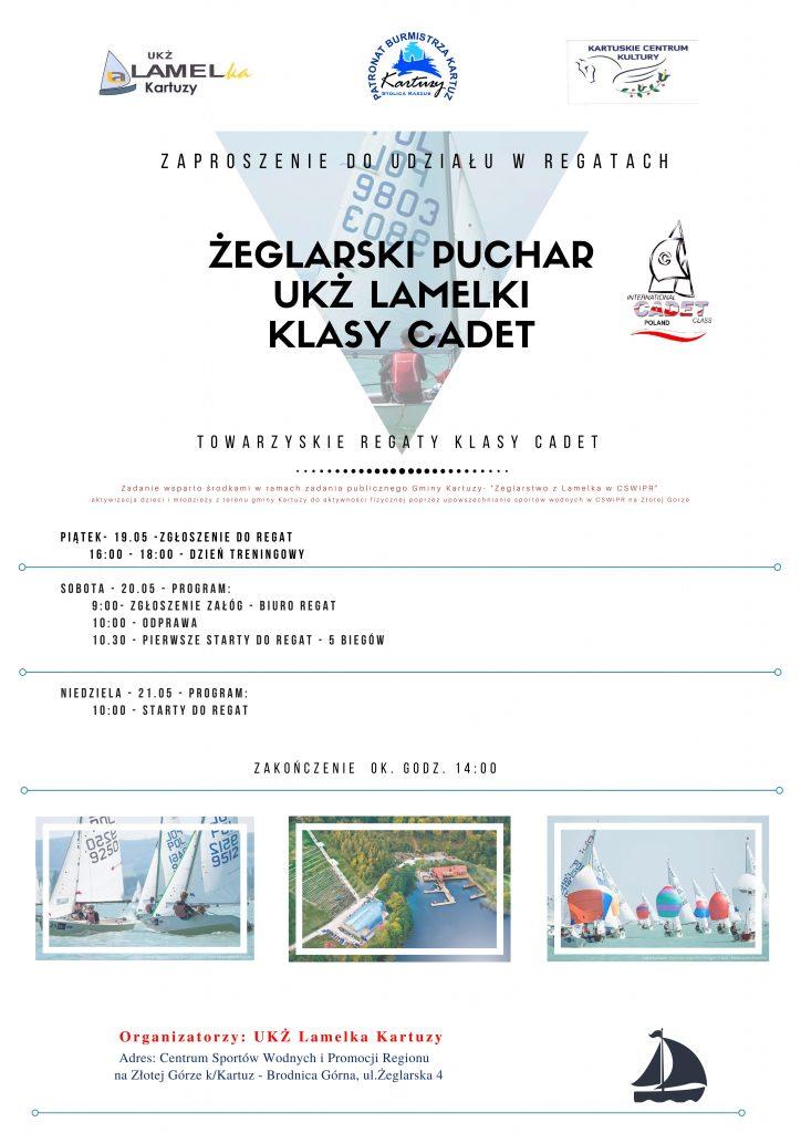 Regaty o Puchar Burmistrza Kartuz