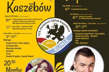 XIX Światowy Zjazd Kaszubów 1 lipca w Rumi