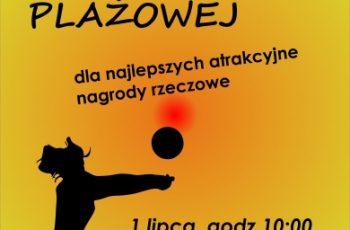 fot. OKiS Żukowo/ Turniej siatkówki plażowej