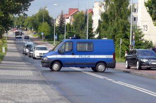 Wyciek gazu w Żukowie/ fot. A. Hinc