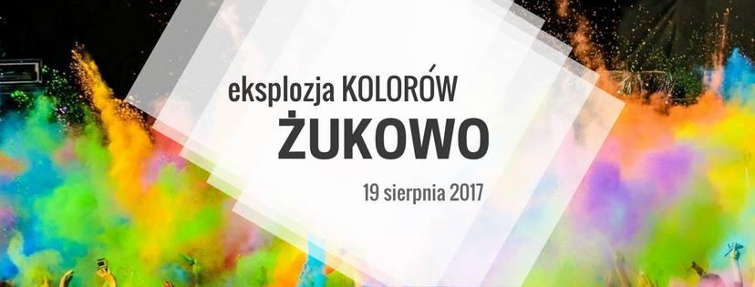 Eksplozja kolorów w Żukowie 2017