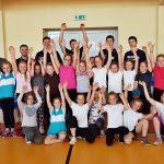 Uczniowie z Banina trenowali pod okiem zawodników GKS Żukowo [ZDJĘCIA]