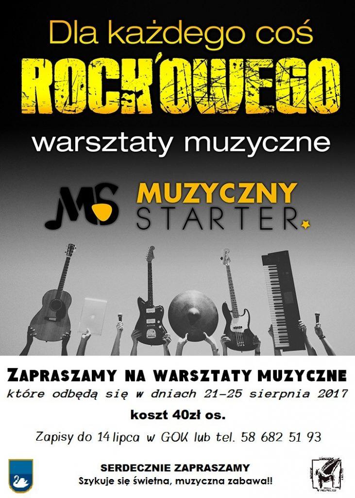 Warsztaty muzyczne w Przywidzu - dla każdego coś rockowego