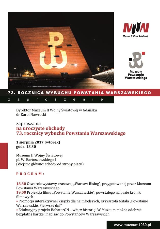 Powstanie Warszawskie w Muzeum II Wojny Światowej w Gdańsku