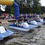 II Mistrzostwa Kaszub w Wyścigach na Rowerkach Wodnych Ostrzyce 2017 [ZDJĘCIA]