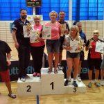 Tenisistki KTS-K GOSRIT Luzino z medalami