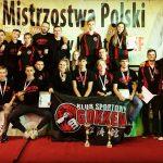 KS Gokken Chwaszczyno na  Mistrzostwach Polski Juniorów Młodszych, Juniorów I Młodzieżowców Karate WKF