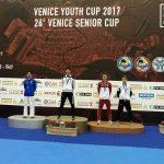 Adam Piotrkowski wywalczył brąz na turnieju karate we Włoszech