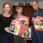 Pierwsze czworaczki w gminie Żukowo otrzymały podarunki od burmistrza