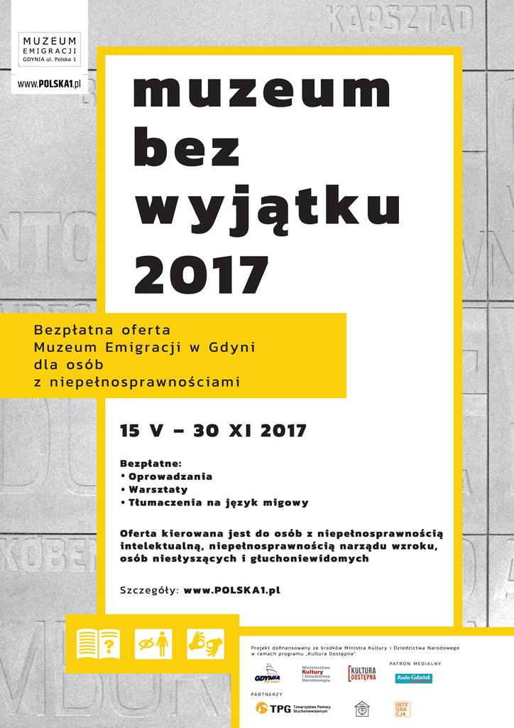 """""""Poznajmy się!"""" – finał projektu Muzeum Bez Wyjątku 2017"""