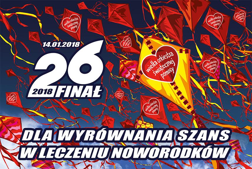26. Finał Wielkiej Orkiestry Świątecznej Pomocy w Żukowie