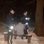 Policjanci uratowali 51-latka w Dzierżążnie