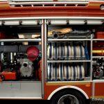 OSP Mojusz zaprezentował radnym nowy wóz strażacki