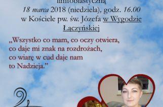 Schola zaśpiewa dla Kasi Łaszewskiej