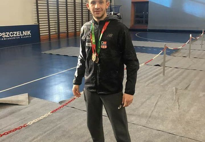 Wojciech Serkowski w Siemianowicach Śląskich z brązowym medalem