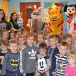 Zajączek znowu odwiedził dzieci z gminy Somonino