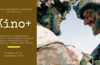 Spotkanie z żołnierzem w Kinie za Rogiem w Chmielnie