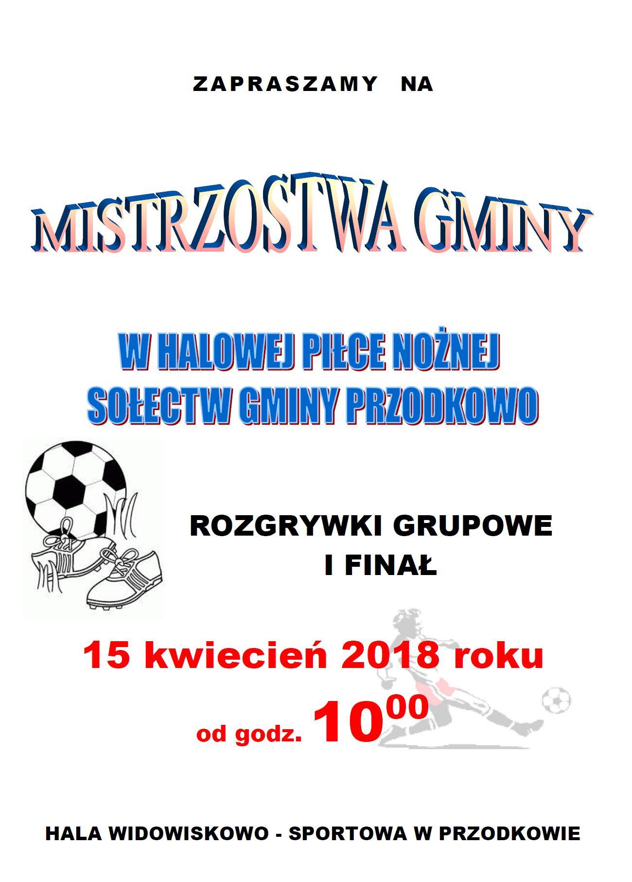 Turniej piłkarski w Przodkowie