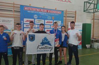 Armin Wilczewski i Nikola Zaborowska z medalami Mistrzostw Polski w Kickboxingu Kadetów