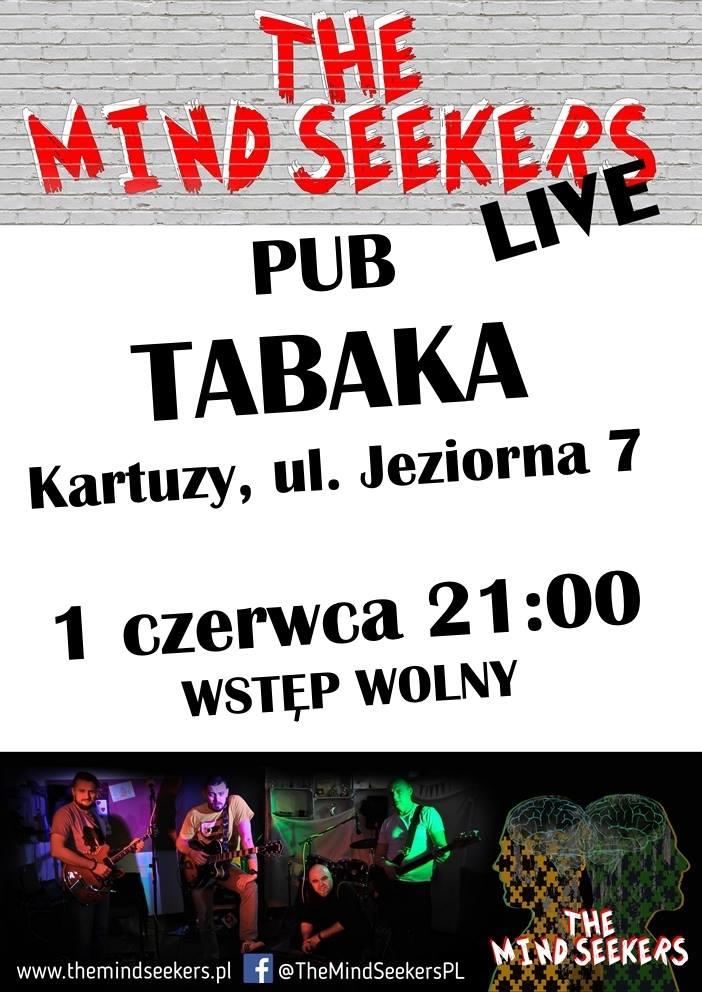 Koncert The Mind Seekers w Kartuzach