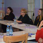 Pisarka Małgorzata Warda poprowadziła warsztaty literackie w Chmielnie