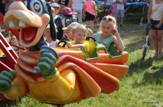 Dzień Dziecka w Parku nad Jeziorkiem byłam czasem świetnej zabawy dla najmłodszych fot. Elżbieta Lejk /zKaszub.info