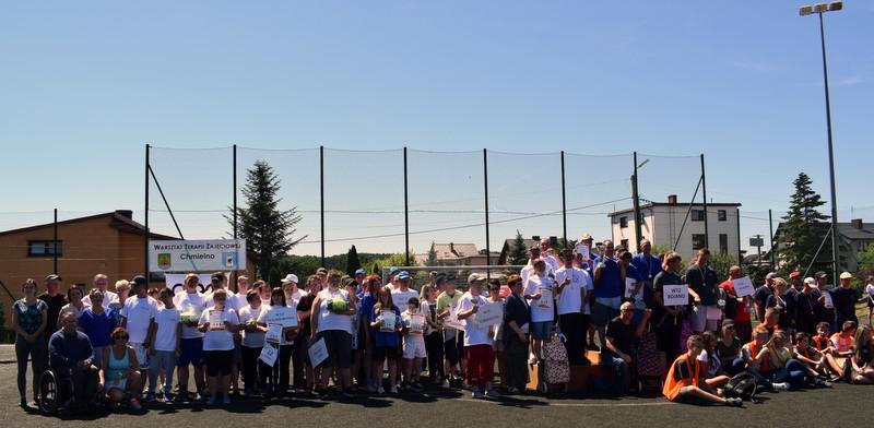 X Olimpiada Sportowa Osób Niepełnosprawnych WTZ woj. pomorskiego była świetną okazją o integracji i zabawy