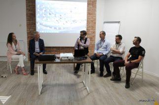 Uczestnicy Forum III Sektora dyskutowali o rozwoju współpracy samorządów terytorialnych z organizacjami pozarządowymi w obszarze kultury fot. Elżbieta Lejk /zKaszub.info