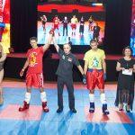 Adam Kryszewski wygrał swoją walkę na międzynarodowym meczu w Kijowie