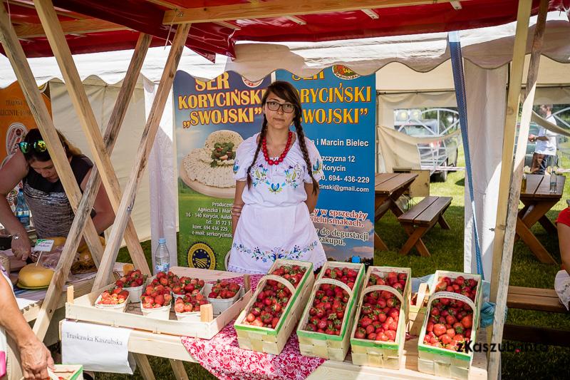 Festiwal Truskawek Kaszubskich po raz trzeci nęci pysznymi owocami fot. zKaszub.info