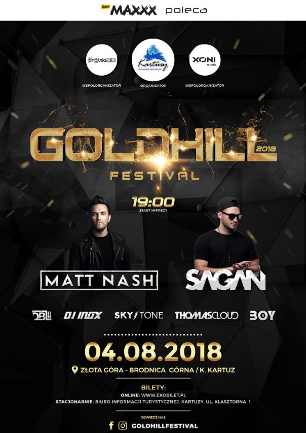 Goldhill Festival na Złotej Górze!
