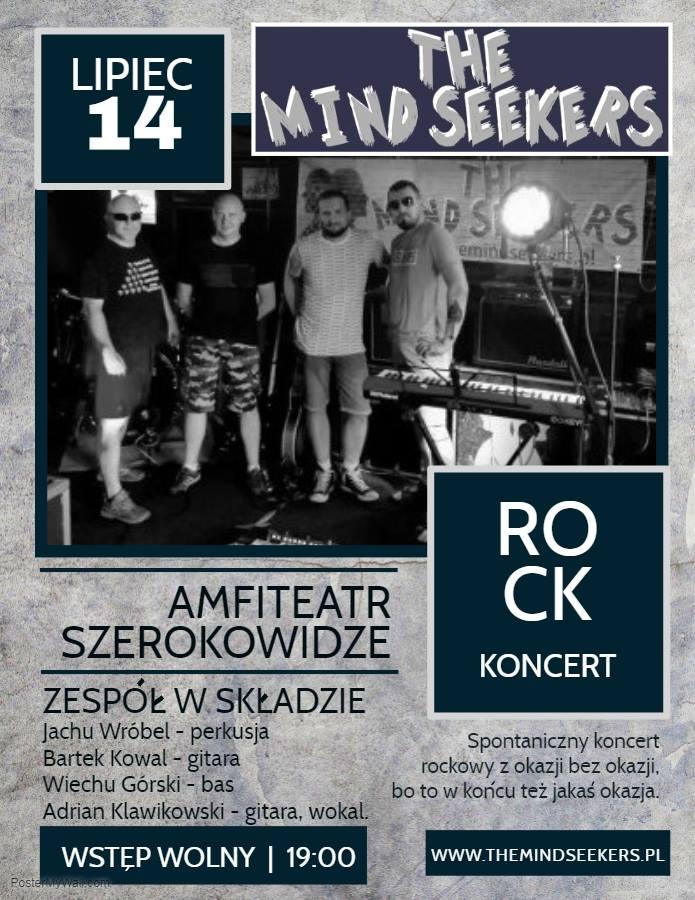 Koncert The Mind Seekers - Sierakowice