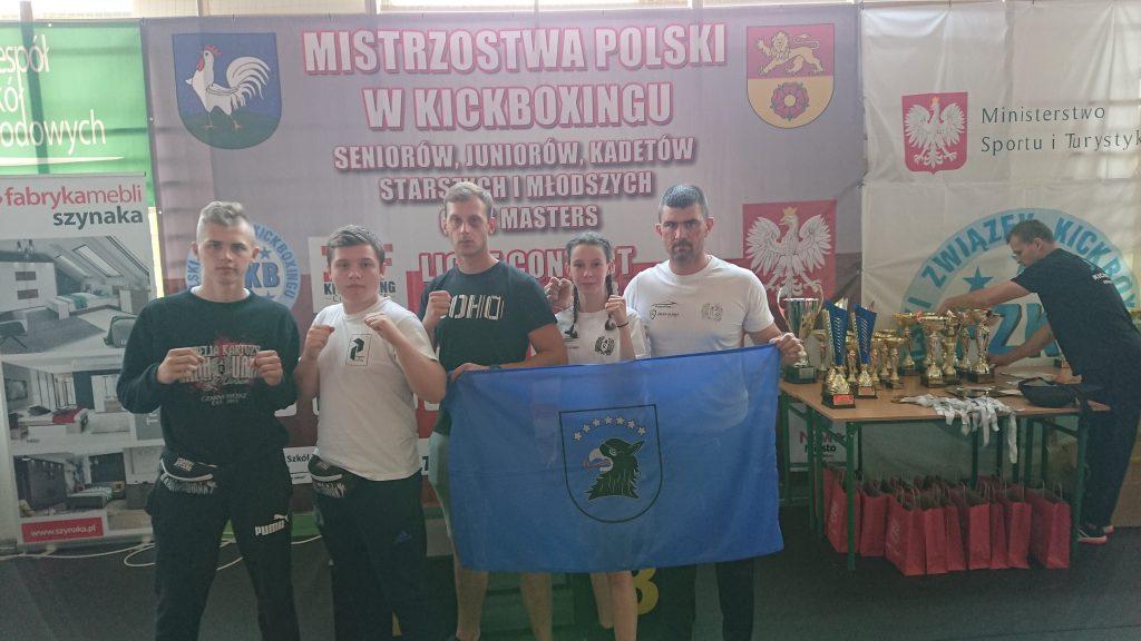 Zawodnicy Polskiej Floty Rebelia Kartuzy zdobyli kolejne medale. Tym razem Mistrzostw Polski