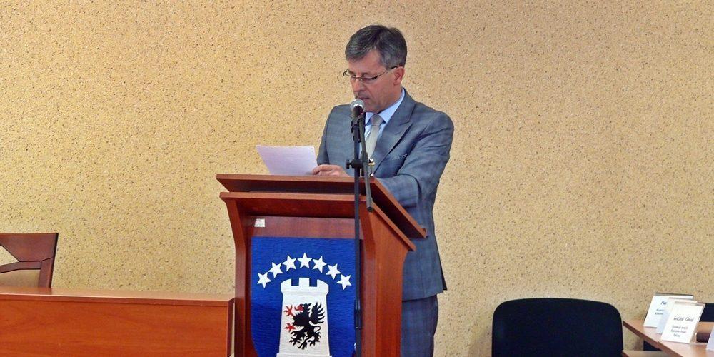 Piotr Fikus deklaruje - nie będzie kandydował na burmistrza Żukowa fot. zKaszub.info