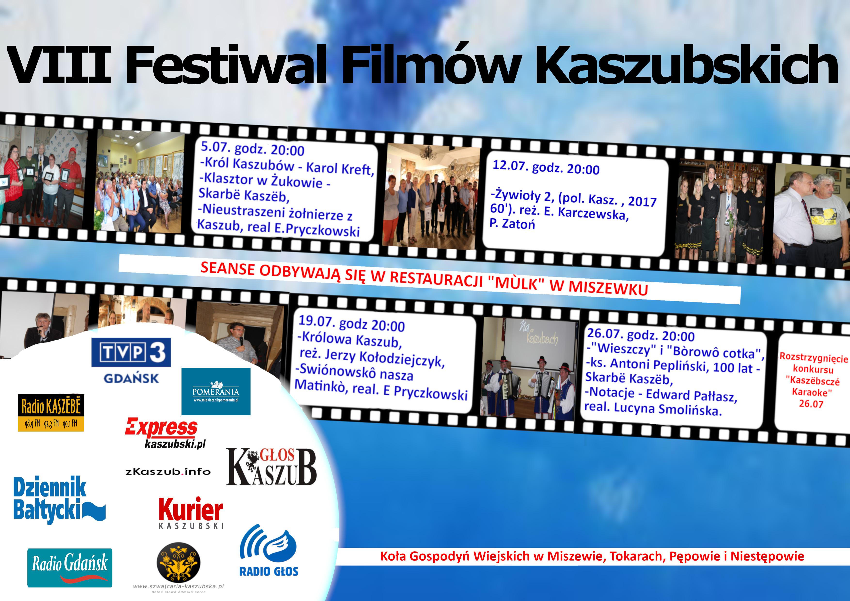 VIII Festiwal Filmów Kaszubskich