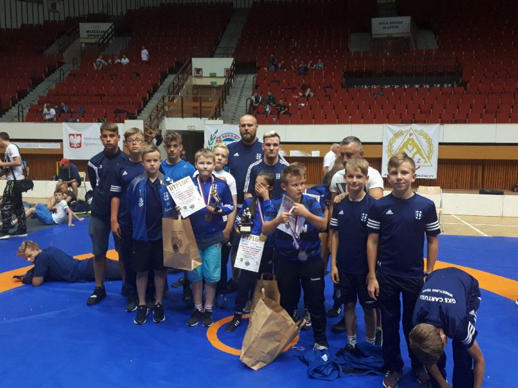 Zawodnicy GKS Cartusia na Pucharze Warmii i Mazur
