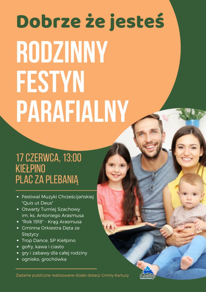 """V Rodzinny Festyn Parafialny """"Dobrze, że jesteś"""" - Kiełpino"""