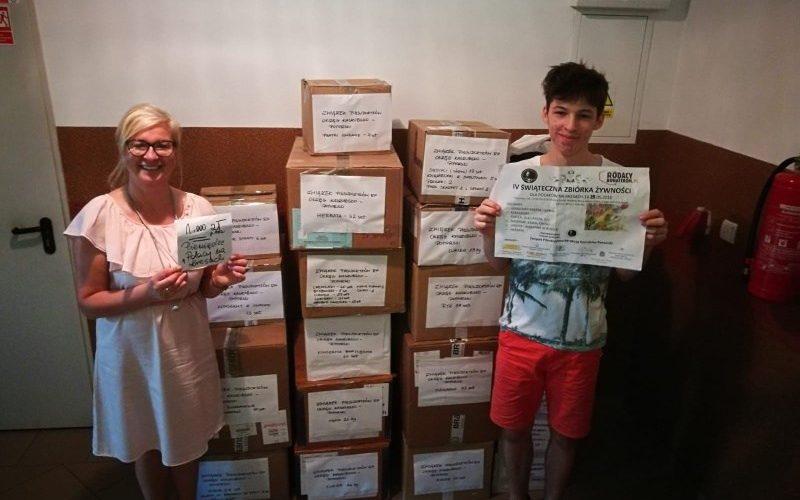 Okręg Kaszubsko-Pomorski ZPRP podsumował akcję zbiórki żywności dla Kresowców