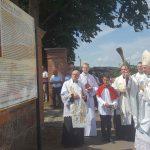 O historii sanktuarium sianowskiego… Ważna tablica przy bramie