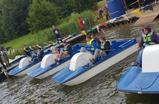 IV Mistrzostwa Kaszub w wyścigach na rowerach wodnych po raz kolejny zgromadziły amatorów sportów wodnych