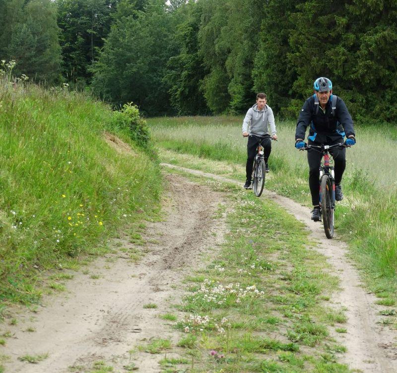 Szlak Hutniczy to trasa bardzo wymagająca, jednak pełna pięknych krajobrazów fot. UG Somonino /Sebastian G.