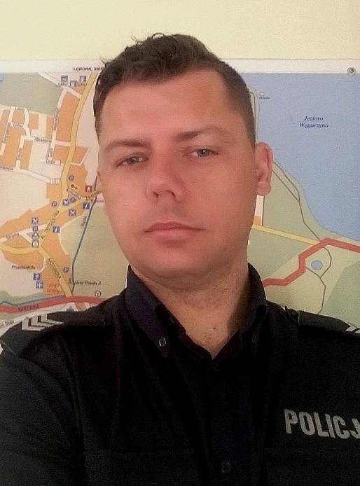 Daniel Kotłowski fot. KPP w Kartuzach
