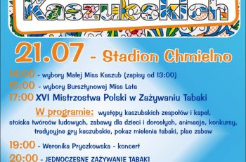 """Festiwal Tradycji Kaszubski – """"Tabaka"""" w Chmielnie"""